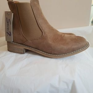 Tan Dress Boots Sz 8.5